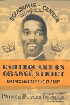 Earthquake On Orange Street: Buster's Jamaican Singles Story - Jeremy Collingwood - Book
